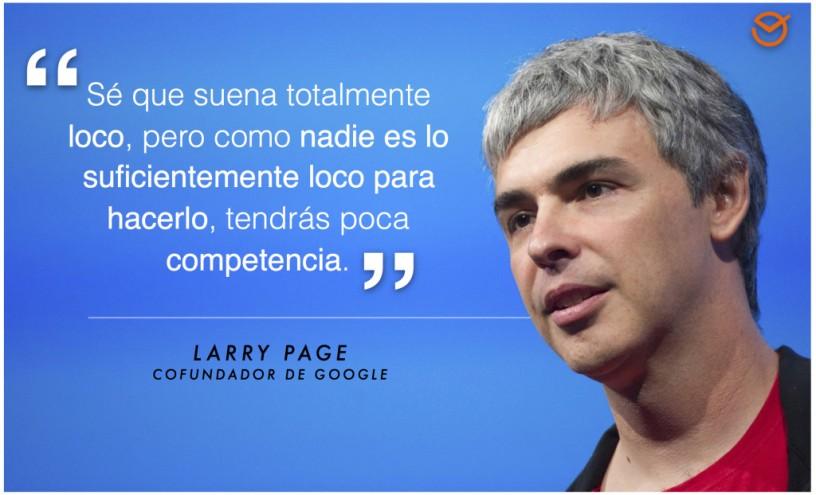 ¿Qué hay que hacer para ver lo mismo que Larry Page?