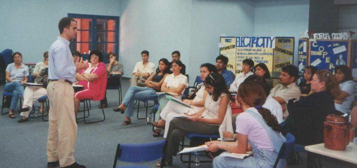 American School of Asunción José manuel Bautista curso sobre metodología docente innovadora