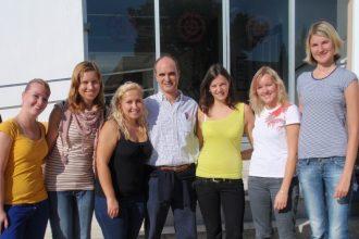 alumnos internacionales checos Universidad de Huelva José Manuel Bautista