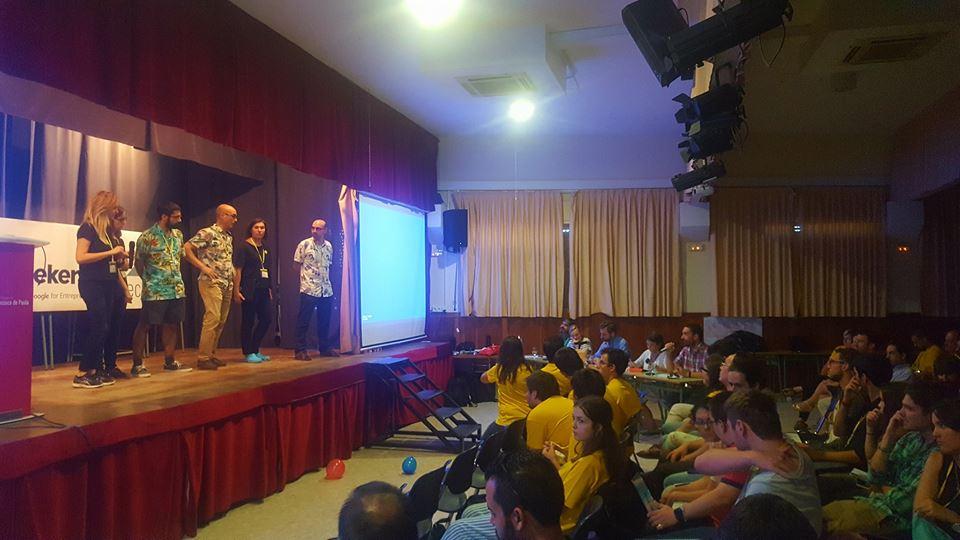 Startup Weekend Seville 090717 presentación final respuesta a pregunta del jurado