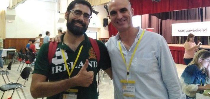 Startup Weekend Seville 090717 sobre educación José Manuel Bautista
