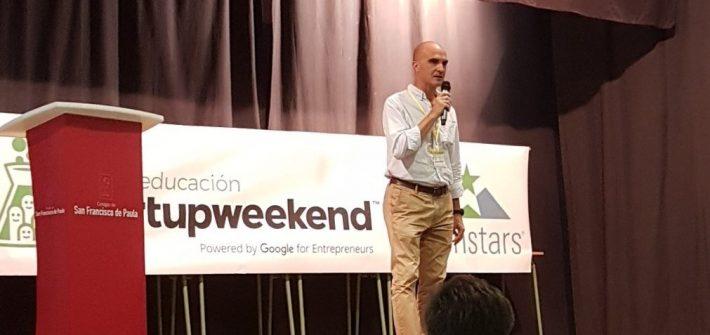 Startup Weekend Seville-090717 pitch inicial de la idea original