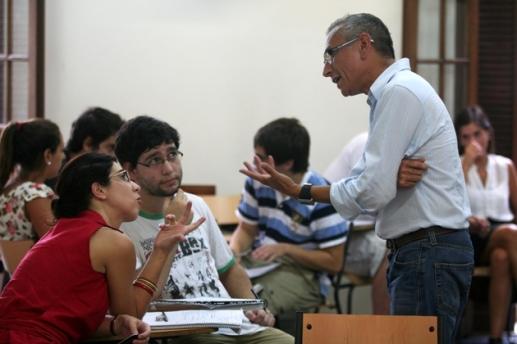 discusión profesores José Manuel Bautista