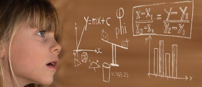 niña matemáticas aprender pronto José Manuel Bautista