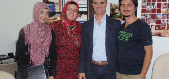Estudiantes turcos Universidad de Huelva José Manuel Bautista