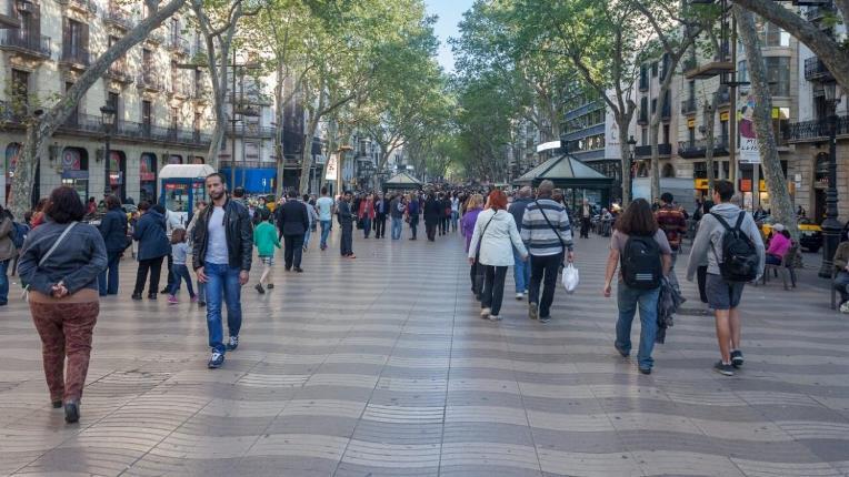 rambla barcelona atentado