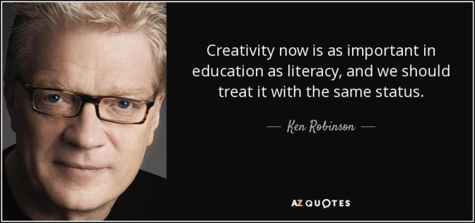 creativity ken robinson creatividad