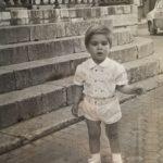 José Manuel Bautista niño en Sevilla